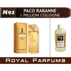 «1 Million Cologne» от Paco Rabanne. Духи на разлив Royal Parfums 100 мл