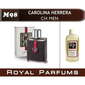 «CH Men» от Carolina Herrera. Духи на разлив Royal Parfums 100 мл