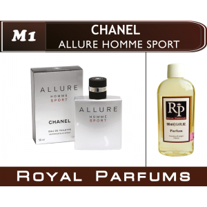 «Allure Homme Sport» от Chanel. Духи на разлив Royal Parfums 100 мл