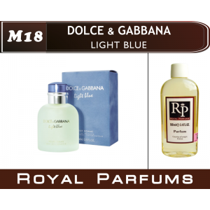 «Light Blue» от Dolce & Gabbana. Духи на разлив Royal Parfums 100 мл