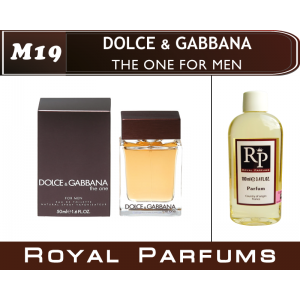 «The One For Men» от Dolce & Gabbana. Духи на разлив Royal Parfums 100 мл
