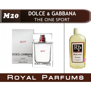«The One Sport» от Dolce & Gabbana. Духи на разлив Royal Parfums 100 мл