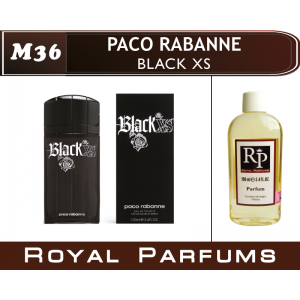 «Black XS» от Paco Rabanne. Духи на разлив Royal Parfums 100 мл