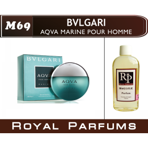 «Aqua Marine» от Bvlgari. Духи на разлив Royal Parfums 100 мл