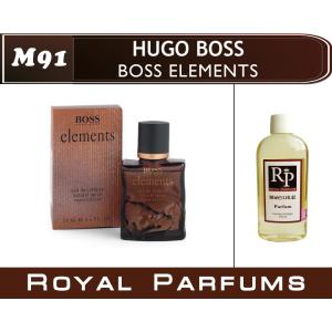 «Boss Elements» от Hugo Boss. Духи на разлив Royal Parfums 100 мл