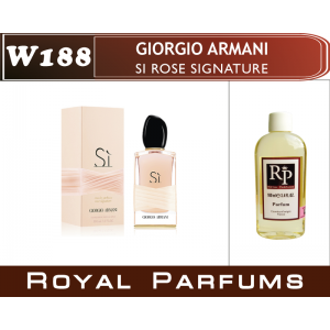 «Si Rose Signature» от Giorgio Armani. Духи на разлив Royal Parfums 100 мл