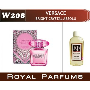 «Bright Crystal Absolu» от Versace. Духи на разлив Royal Parfums 100 мл