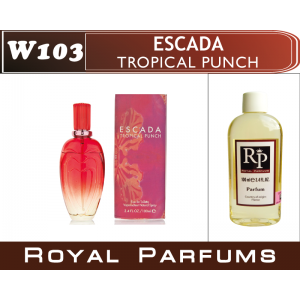 «Tropical punche» от Escada. Духи на разлив Royal Parfums 100 мл