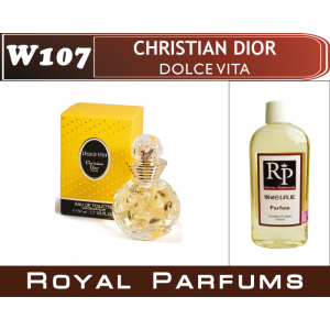 «Dolce Vita» от Christian Dior. Духи на разлив Royal Parfums 100 мл