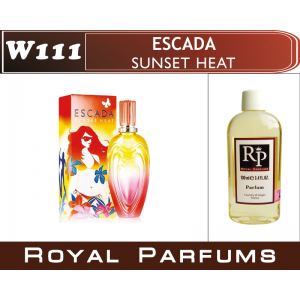 «Sunset Heat» от Escada. Духи на разлив Royal Parfums 100 мл