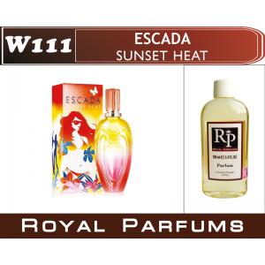 «Sunset Heat» от Escada. Духи на разлив Royal Parfums 100 мл