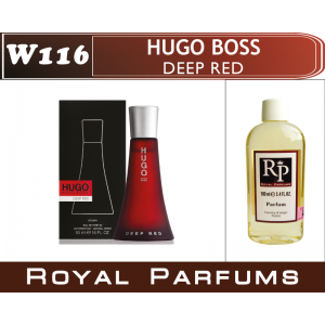 «Deep Red» от Hugo Boss. Духи на разлив Royal Parfums 100 мл