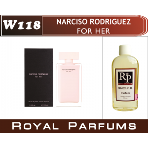 «Narciso Rodriguez for her» от Narciso Rodriguez. Духи на разлив Royal Parfums 100 мл