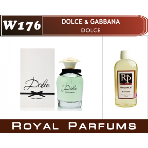 «Dolce» от Dolce & Gabbana. Духи на разлив Royal Parfums 100 мл