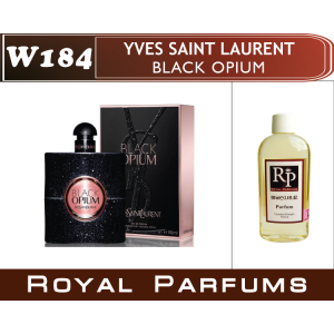 «Black Opium» от Yves Saint Laurent. Духи на разлив Royal Parfums 100 мл