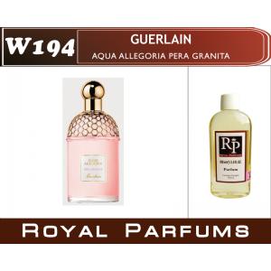 «Aqua Allegoria Pera Granita» от Guerlain. Духи на разлив Royal Parfums 100 мл
