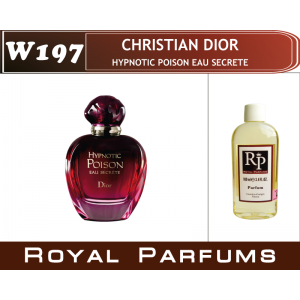 «Hypnotic Poison Eau Secrete» от Christian Dior. Духи на разлив Royal Parfums 100 мл