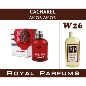 «Amor Amor» от Cacharel. Духи на разлив Royal Parfums 100 мл