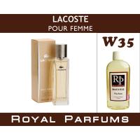 Lacoste «pour Femme»