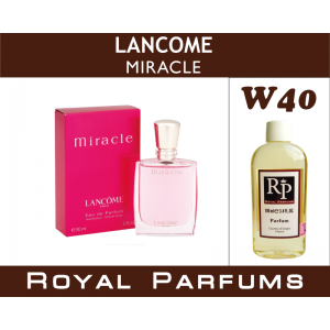 «Miracle» от Lancome. Духи на разлив Royal Parfums 100 мл