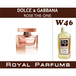 «Rose the One» от Dolce&Gabbana. Духи на разлив Royal Parfums 100 мл