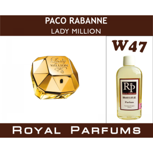 «Lady Million» от Paco Rabanne. Духи на разлив Royal Parfums 100 мл