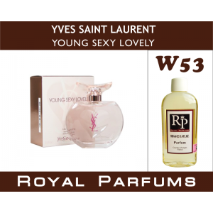 «Young Sexy Lovely» от Yves Saint Laurent. Духи на разлив Royal Parfums 100 мл