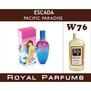 «Pacific Paradise» от Escada. Духи на разлив Royal Parfums 100 мл
