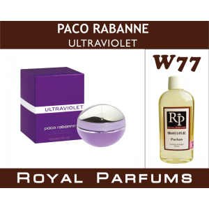 «Ultraviolet» от Paco Rabanne. Духи на разлив Royal Parfums 100 мл