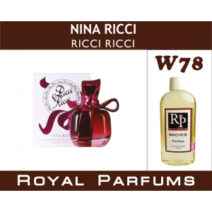 «Ricci Ricci» от Nina Ricci. Духи на разлив Royal Parfums 100 мл