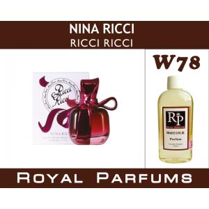 «Ricci Ricci» от Nina Ricci. Духи на разлив Royal Parfums 100 мл