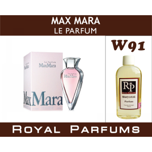 «Le Parfum» от Max Mara. Духи на разлив Royal Parfums 100 мл