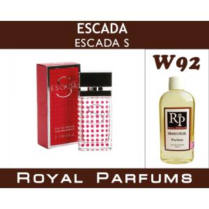 «Escada S» от Escada. Духи на разлив Royal Parfums 100 мл
