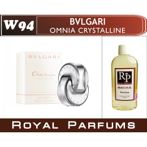 «Omnia Crystalline» от Bvlgari. Духи на разлив Royal Parfums 100 мл