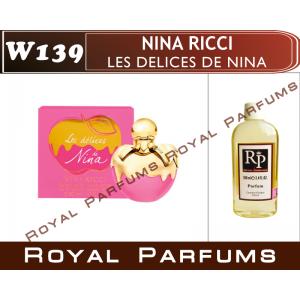 «Les Delices de Nina» от Nina Ricci. Духи на разлив Royal Parfums 100 мл