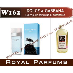 «Light Blue Dreaming in Portofino» от Dolce & Gabbana. Духи на разлив Royal Parfums 100 мл