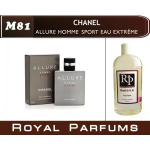 «Allure Homme Sport Eau Extreme» от Chanel. Духи на разлив Royal Parfums 200 мл