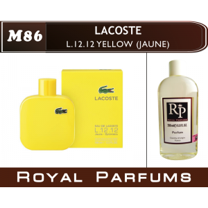 «L.12.12 Yellow» от Lacoste. Духи на разлив Royal Parfums 200 мл