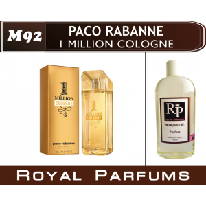 «1 Million Cologne» от Paco Rabanne. Духи на разлив Royal Parfums 200 мл