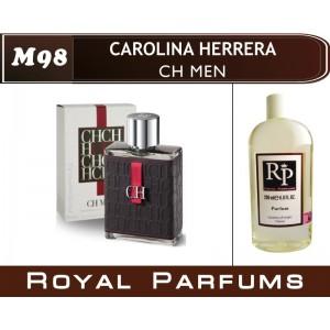 «CH Men» от Carolina Herrera. Духи на разлив Royal Parfums 200 мл