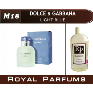 «Light Blue» от Dolce & Gabbana. Духи на разлив Royal Parfums 200 мл