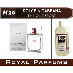 «The One Sport» от Dolce & Gabbana. Духи на разлив Royal Parfums 200 мл