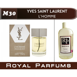«L'Homme» от Yves Saint Laurent. Духи на разлив Royal Parfums 200 мл