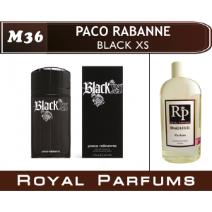 «Black XS» от Paco Rabanne. Духи на разлив Royal Parfums 200 мл