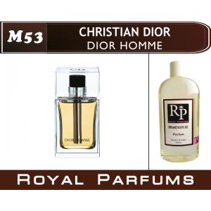 «Dior Homme» от Christian Dior. Духи на разлив Royal Parfums 200 мл