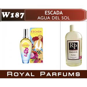 «Agua del Sol» от Escada. Духи на разлив Royal Parfums 200 мл