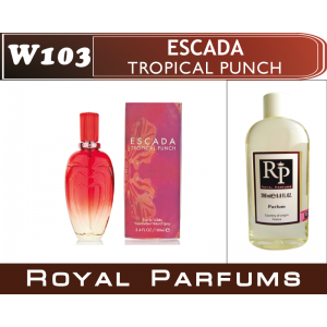 «Tropical punche» от Escada. Духи на разлив Royal Parfums 200 мл