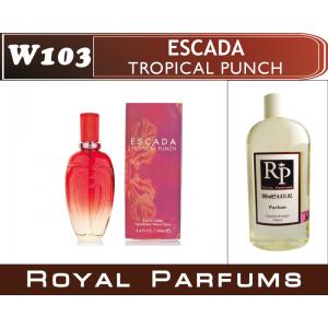 «Tropical punche» от Escada. Духи на разлив Royal Parfums 200 мл