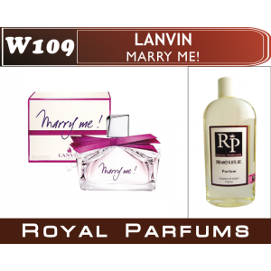 «Marry me» от Lanvin. Духи на разлив Royal Parfums 200 мл
