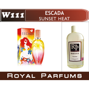 «Sunset Heat» от Escada. Духи на разлив Royal Parfums 200 мл